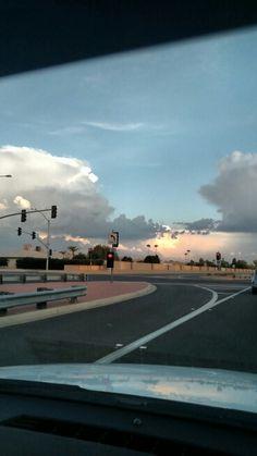 Clouds &  sunset