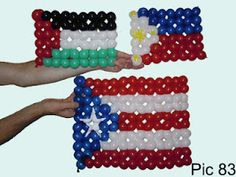 Flags: Palestine, Philippines, Puerto Rico