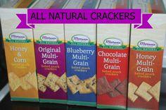 Milton's Non-GMO Snack Crackers! #sponsored