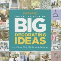 The Hardcover Of The Country Living The Little Book Of Big Decorating  Ideas: 287 Clever Tips, Tricks, And Solutions By Katy McColl, Country Living