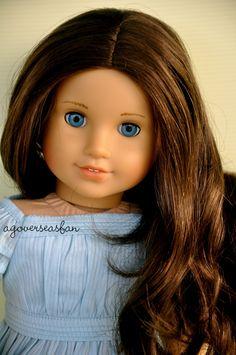 Agoverseasfan: Top 10 Helpful Tips About Doll Photo Shoots American Girl Dolls Custom American Girl Dolls, American Doll Clothes, Girl Doll Clothes, Doll Clothes Patterns, American Girls, Custom Dolls, Felicity American Girl Doll, American Girl Accessories, Journey Girls