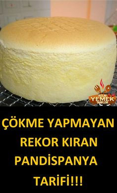 sünger gibi çökmeyen pasta keki tarifi – – Vegan yemek tarifleri – Las recetas más prácticas y fáciles Easy Desserts, Delicious Desserts, Dessert Recipes, Drink Recipes, Sponge Cake Recipes, Sponge Recipe, Vegan Recipes, Banana Recipes, Pastry Cake