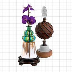 Aposte em objetos de design arrojado para enriquecer a decoração