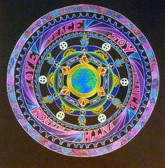 Blessings Mandala by Kay Enns