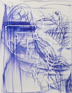 Jana Schröder, Spontacts K 06, 2016, Copying pencil and oil on canvas, 155 x 120 cm (61.02 x 47.24 in)