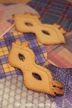 In Cucina con Me - Maschere di #Carnevale in biscotto