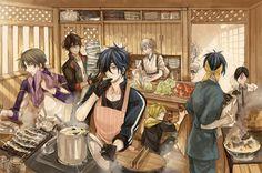 本丸のキッチン