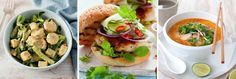 Voome Recipe Collection: Easy Winter Fake-Away Recipes Feed (and fool) the whole family with these speedy Michelle Bridges 12wbt, Recipe Collection, Fresh Rolls, Drinks, Cooking, Healthy, Winter, Ethnic Recipes, Easy