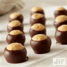 Peanut Butter #Buckeyes from Jif®