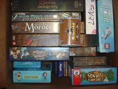 Game Box # 8 with 15 New Modern Euro Board Games, Fantastic Deal!