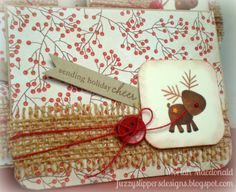 Fuzzy Slippers Designs: Reindeer Make 3!