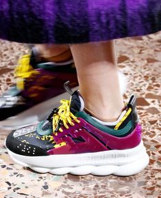 b21567efbce Versace / Fall 2018 / Milan | SHOES in 2019 | Versace sneakers ...