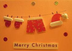 Recycled handmade Christmas Cards - trouble-doubled.blogspot.co.uk