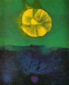 Max Ernst. The sirens sing when the reason sleeps 1966
