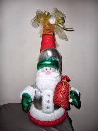 Resultado de imagen para cono icopor Elf On The Shelf, Diy And Crafts, Christmas Ornaments, Holiday Decor, Home Decor, Xmas, Decoration Home, Room Decor, Christmas Jewelry