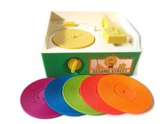 Fisher Price Sesame Street Record Player