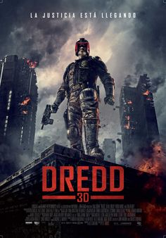 DREDD 3D - Afiche oficial