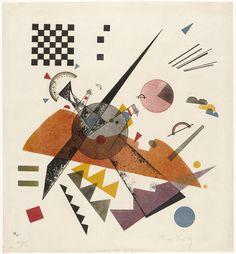 Vasily Kandinsky (French, born Russia. 1866–1944) Orange, 1923, Lithograph