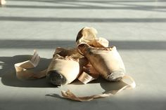 Royal Opera House Covent Garden Used pointe shoes © ROH