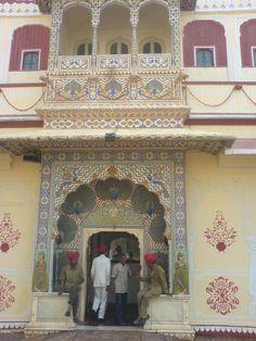 Poarta păunului Jaipur, Palace, Taj Mahal, Asia, City, Building, Buildings, Palaces, Cities