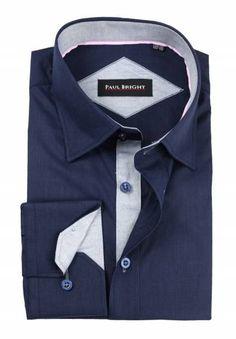 Koszula Paul Bright Bright, Shirt Dress, Mens Tops, Shirts, Dresses, Fashion, Vestidos, Moda, Shirtdress