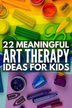 Art Therapy for Kids: 22 Activities to Help Your Child Cope and Heal These art therapy for kids projects are a great way to help children deal with trauma, anger, or grief, and as part of therapy for kids with special needs. Play Therapy Activities, Activities For Kids, Trauma, Art Therapy Children, Art Children, Creative Arts Therapy, Pattern Floral, Coaching, Play Therapy Techniques