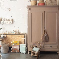 Olli ella p quot;we have the sweetest stockists what a space! linnenkast eva 1 1504 041 old basics Baby Bedroom, Baby Room Decor, Room Decor Bedroom, Bedroom Ideas, Wall Decor, Kids Bedroom Furniture, Kids Decor, Home Decor, Decor Ideas