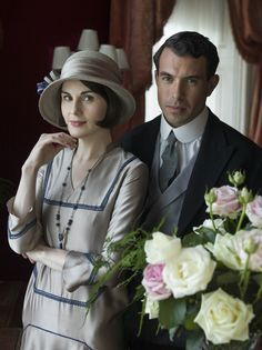 Lady Mary with Tony Gillingham in Downton Abbey season 5 episode 8