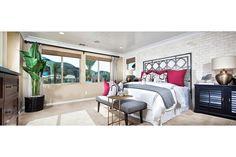 Master Bedroom at Aura Plan 2 | New Homes at Master Planned Canyon Hills