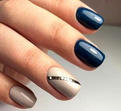 If you're looking to enter on your best fashion-world, here are the 2018 fall nail trends & nail art you need to think about. Make sure your nails is . Nail Trends 2018, Fall Nail Trends, Fall Nail Designs, Acrylic Nail Designs, Acrylic Nails, Hair And Nails, My Nails, Self Nail, Vacation Nails