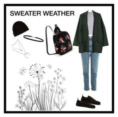 """""""SWEATER WEATHER"""" by diana-jevcakova on Polyvore featuring Topshop, MANGO, Ann Demeulemeester and BillyTheTree"""