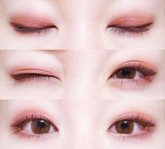 Korean makeup ideas: Pick a lip liner that may be close colored towards the lipstick shade. If you utilize a far lighter or darker shade, it would draw the attention to the edges of the lips, rather than lips themselves. Korean Makeup Look, Korean Makeup Tips, Asian Eye Makeup, Korean Makeup Tutorials, Korean Makeup Ulzzang, Korean Natural Makeup, Soft Eye Makeup, Asian Make Up, Korean Make Up