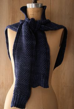 Laura's Loop: Sweater Shawl - The Purl Bee - Knitting Crochet Sewing Embroidery Crafts Patterns and Ideas!