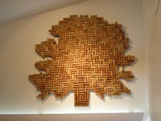 Tree of corks. Another cork project for Ryan, perhaps?  I'm willing to start helping supply him!