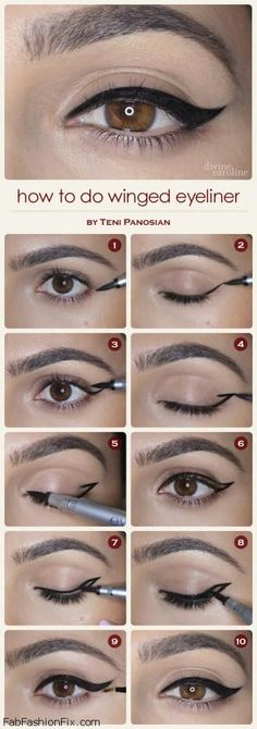 FabFashionFix - Fabulous Fashion Fix | Beauty: How to Apply Eyeliner Tutorial?
