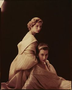Dovima and Suzy Parker