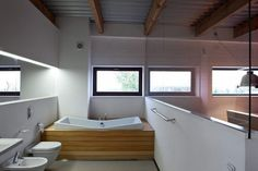 WOOD DESIGN INSPIRATION    Wood & Bathroom    #wood #bathroom #interiors