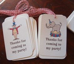 gaddie and tood vintage circus party supplies