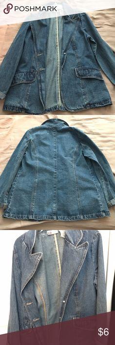 ✨Oversized Jean Jacket✨ Denim Jacket. Quite large. Cool to style. Jackets & Coats Jean Jackets