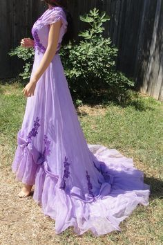 purple fairy wedding dress - Google Search