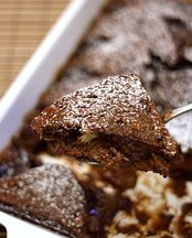 Spiced Chocolate Bread and Butter Pudding
