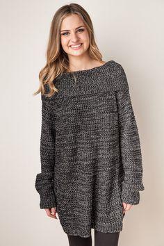 Here We Go Black Sweater – Dress Up