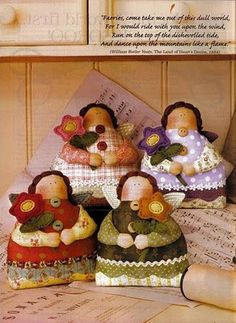 Crafts and Co.: dolls / dolls fabric