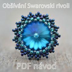 Obšívání Swarovski rivoli - PDF návod / Zboží prodejce TheTerezkaD   Fler.cz