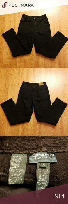 Ralph Lauren Jeans Black Size 10 Excellent condition Lauren Ralph Lauren Jeans