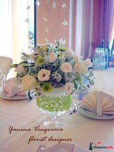 Фото 415007 в коллекции Белая свадьба в Ше Веро. - Флорист-декоратор Янина Венгерова