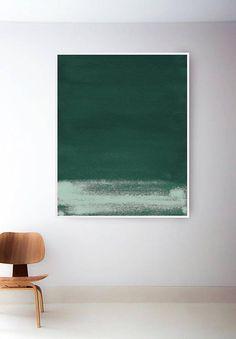 Abstract Green Print. Dark Green Print. Minimal Abstract