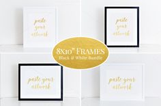 "8x10"" Clean frame mockup bundle (61) by BrownLeopard on Creative Market"