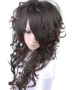 beautiful long wavy brown fashion women wig fp723-2t33