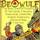Beowulf: Flip Book, Lesson, Organizers, Assessments, Keys, Task Cards, Projects  British Literature Teacher Pack for Beowulf includes- (updated on ...